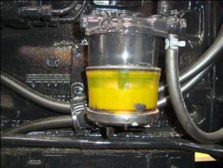 Kraftstoffpumpe ohne Actioil: Milchiger Satz