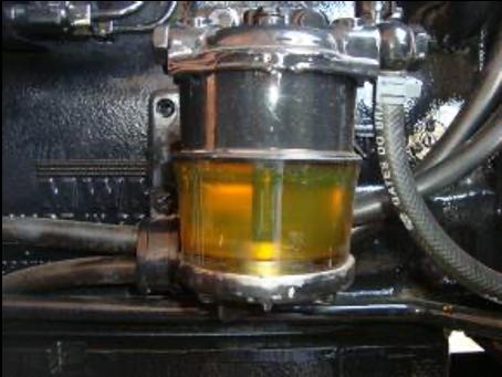 Kraftstoffpumpe mit Actioil: Sauber (nach 24h)